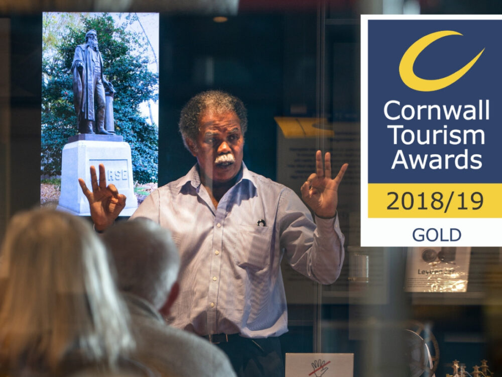Gold Winner at Cornwall Tourism Awards 2018