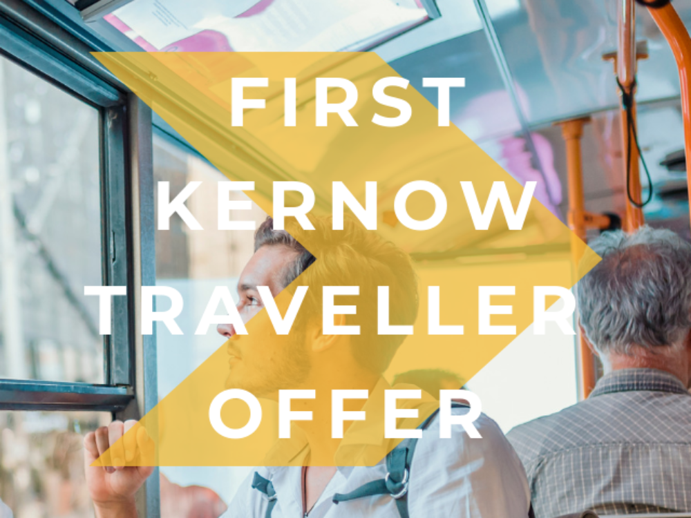 First Kernow Traveller Offer
