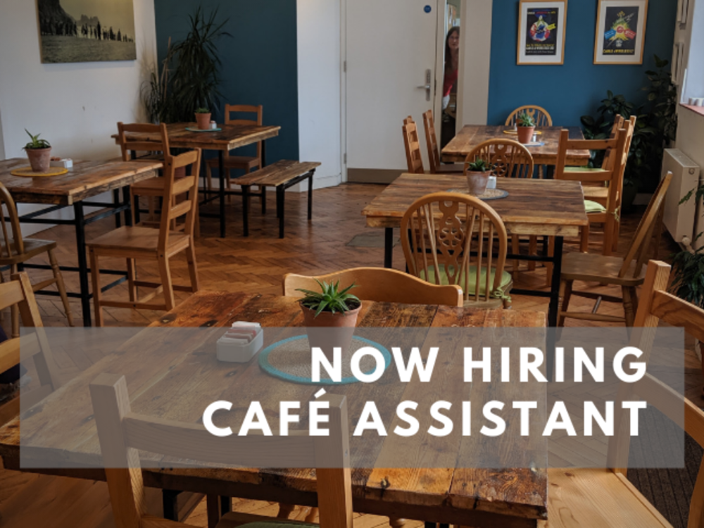 Now Hiring – Café Assistants