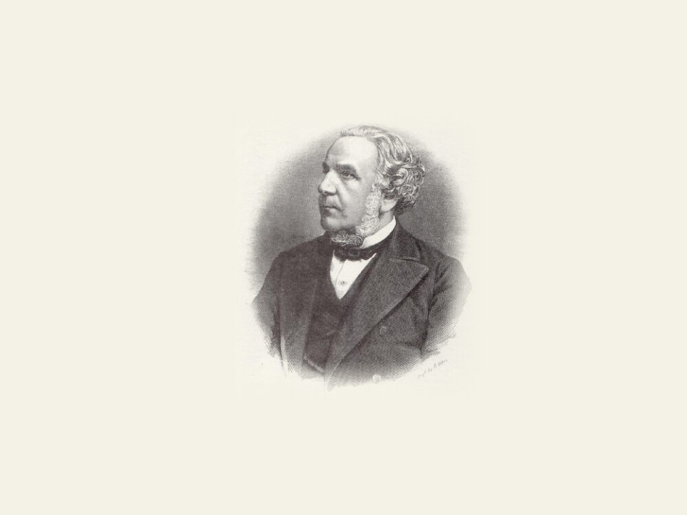 Illustrative headshot of Sir John Pender