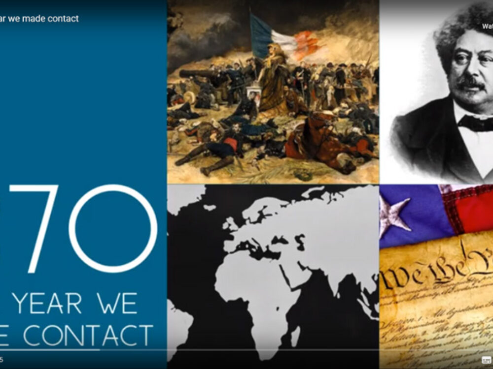 1870: The Year We Made Contact