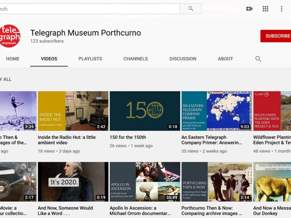 Porthcurno Then & Now Videos
