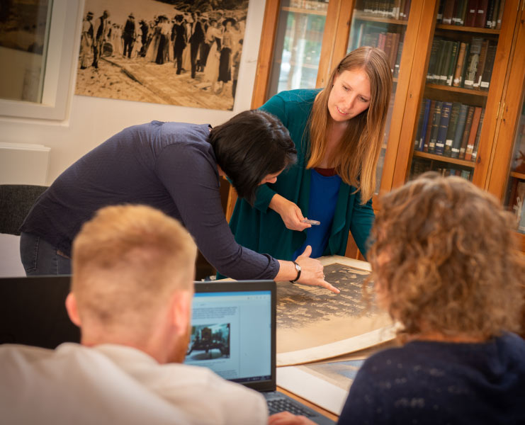 Archive and research at PK Porthcurno