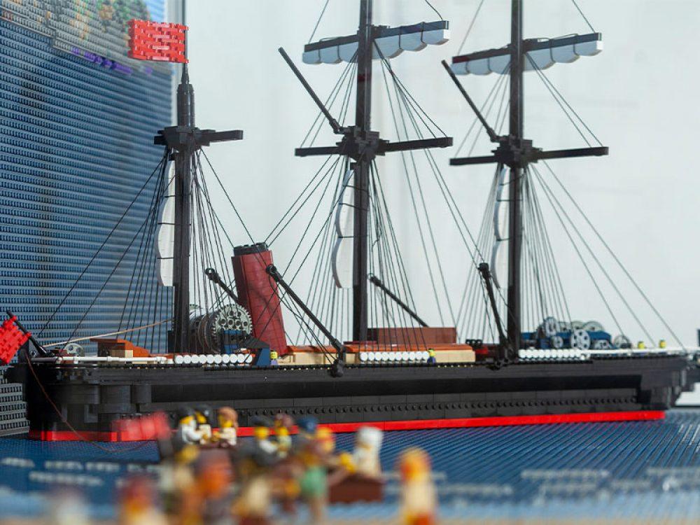 LEGO Warren Elsmore