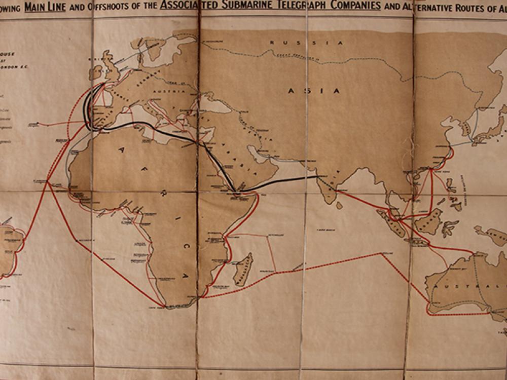 Porthcurno to Port Darwin: The Establishment of the Australian Subsea Telegraph Cable