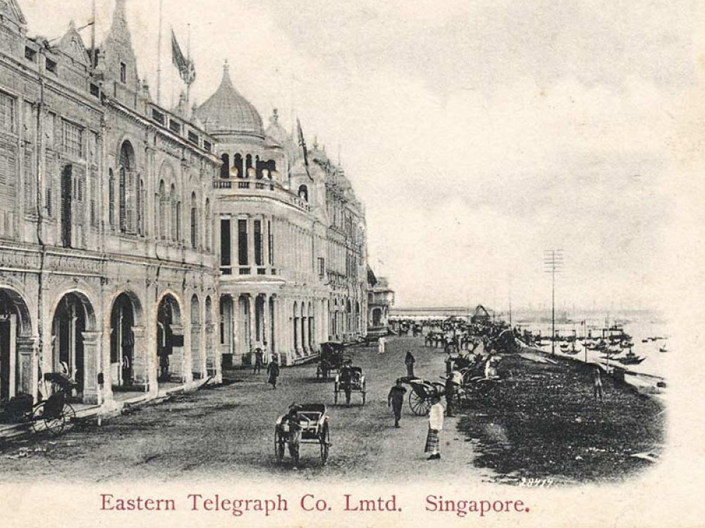 Living and Working in the Far East: Singapore Telegraph Station