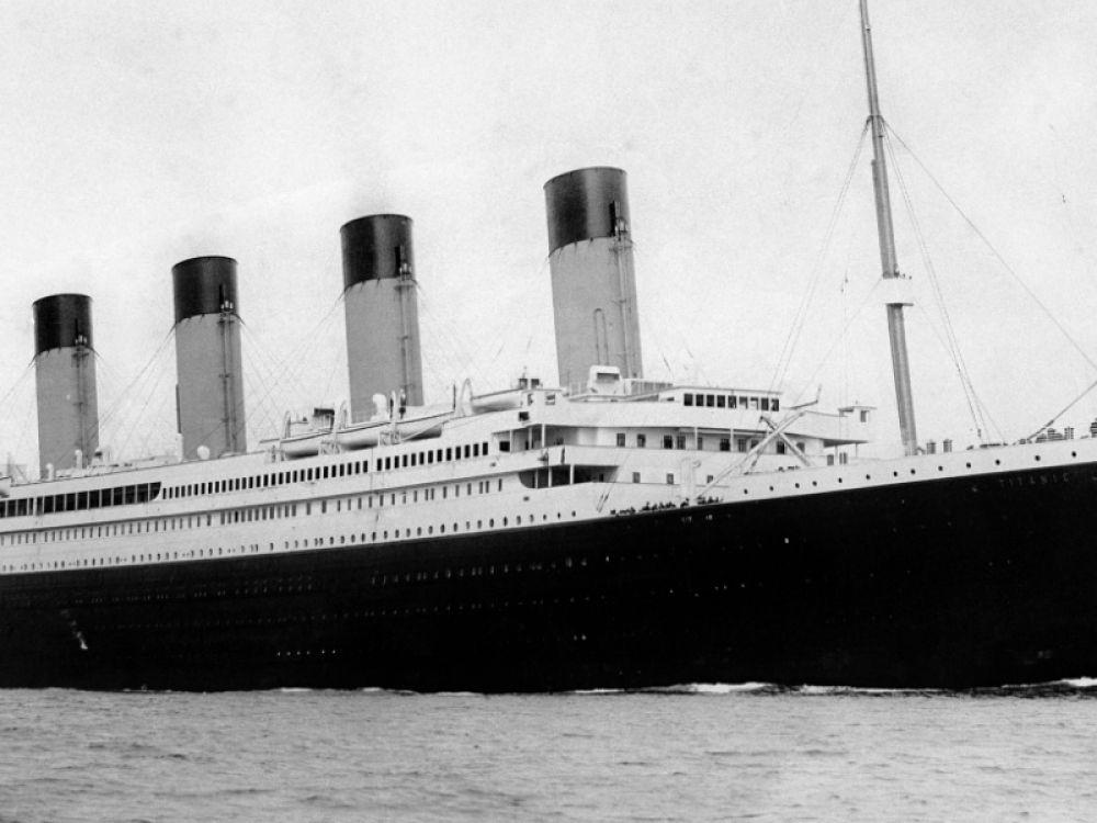Image of the titanic