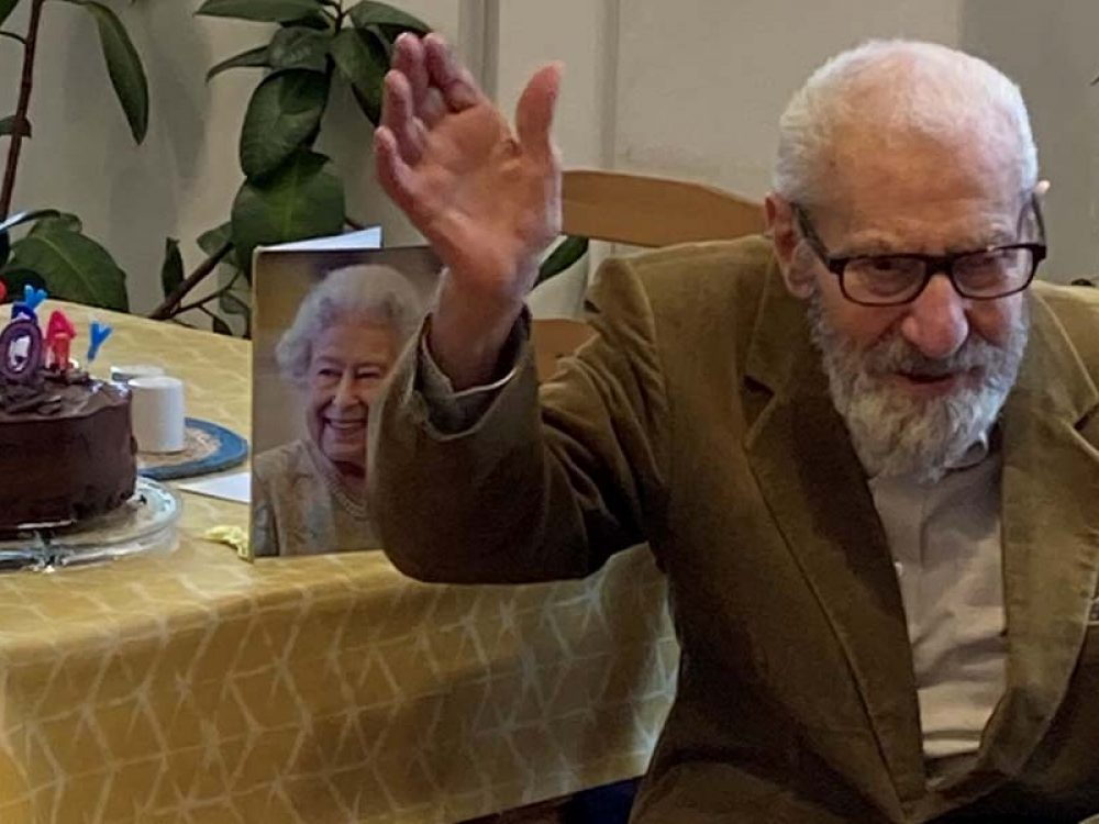 Albert Lorens celebrates 100th Birthday!